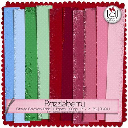 Digilicious_razzleberryglittercardstock_prev600